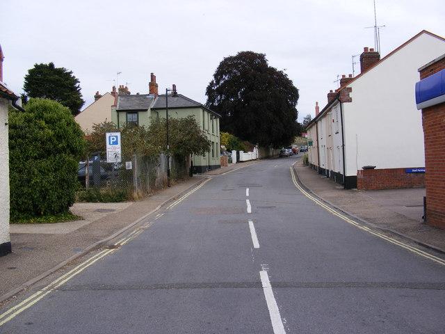 Station Road, Halesworth