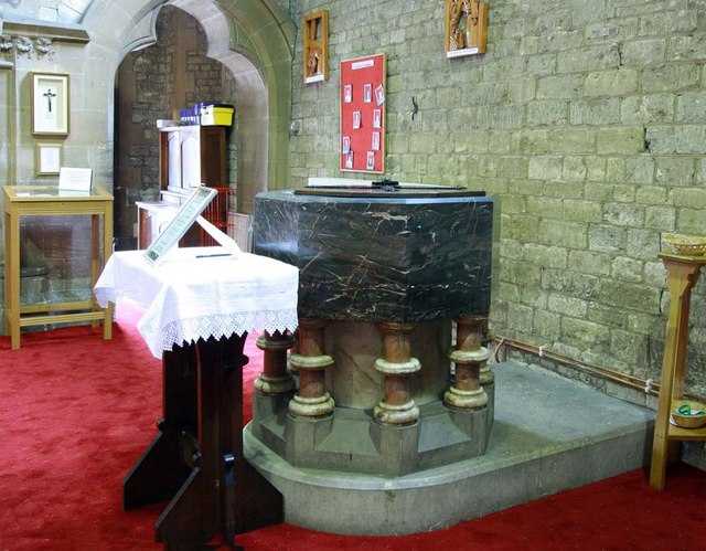 All Saints, Perry Street, Northfleet, Kent - Font