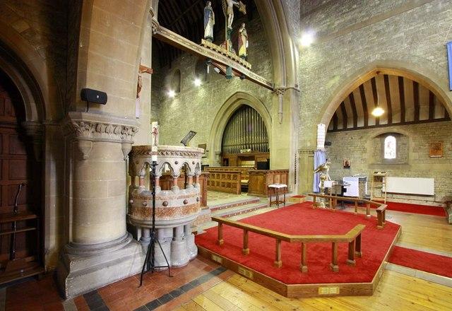 All Saints, Perry Street, Northfleet, Kent - Interior