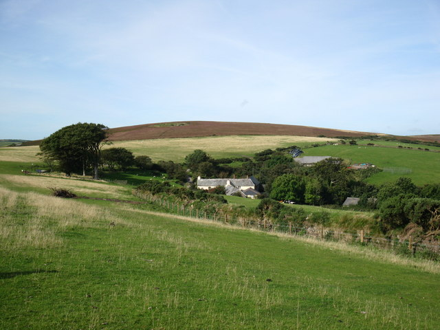 Kipscombe Farm, Countisbury Common