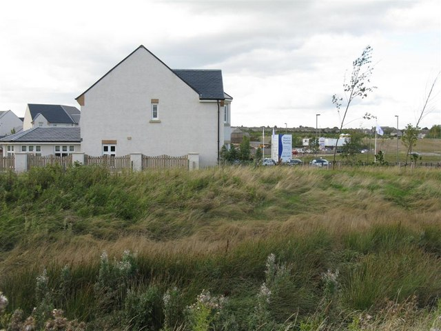New housing estate at Hopefield