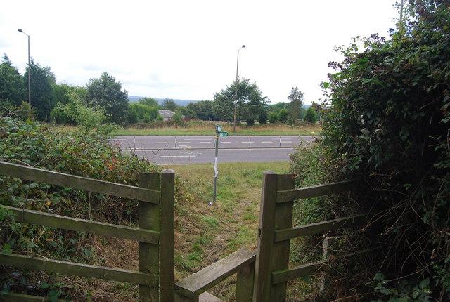 Tunbridge Wells Circular Path - reaches the A21 Pembury Bypass