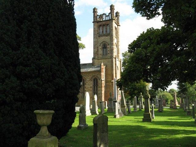 Cockpen and Carrington Church and Graveyard