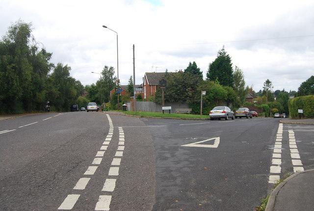 Bo Peep Corner - the junction of Henwood Green Rd & Hastings Rd