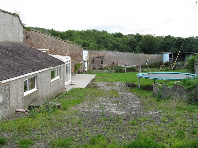 Garden in need of TLC at Grove Farm