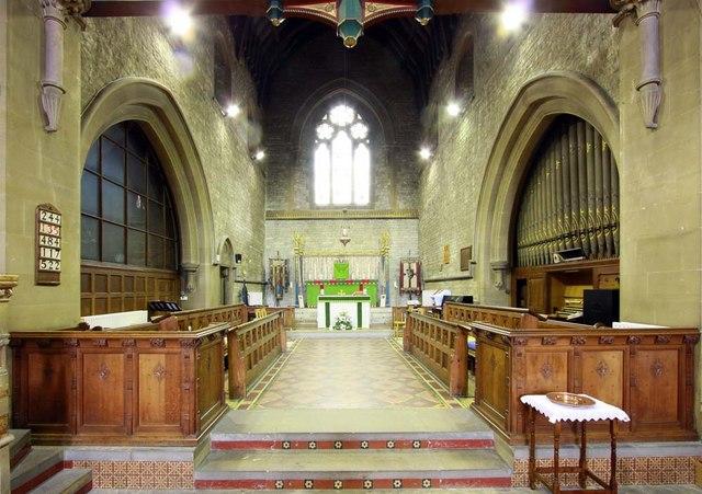 All Saints, Perry Street, Northfleet, Kent - Chancel