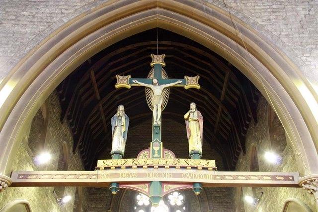 All Saints, Perry Street, Northfleet, Kent - Rood