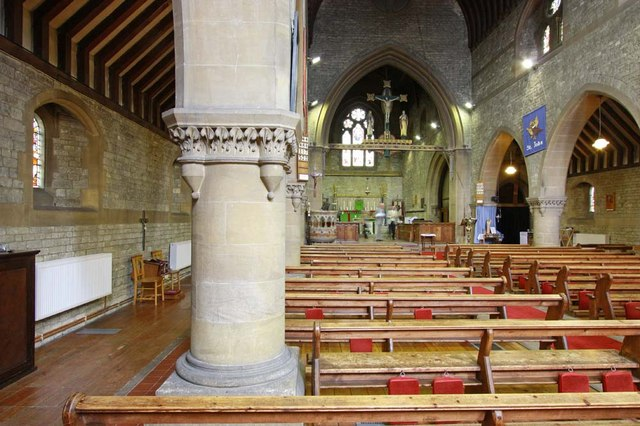 All Saints, Perry Street, Northfleet, Kent - East end