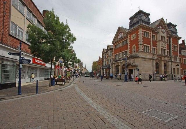 Junction of King Street & Windmill Street