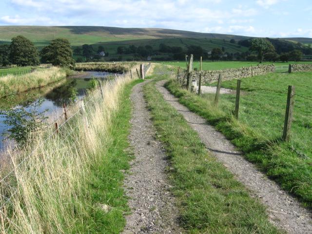 Ribble Way near Craghill Farm