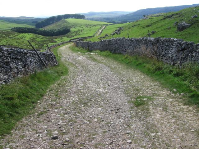 Pennine Way near Horton Scar