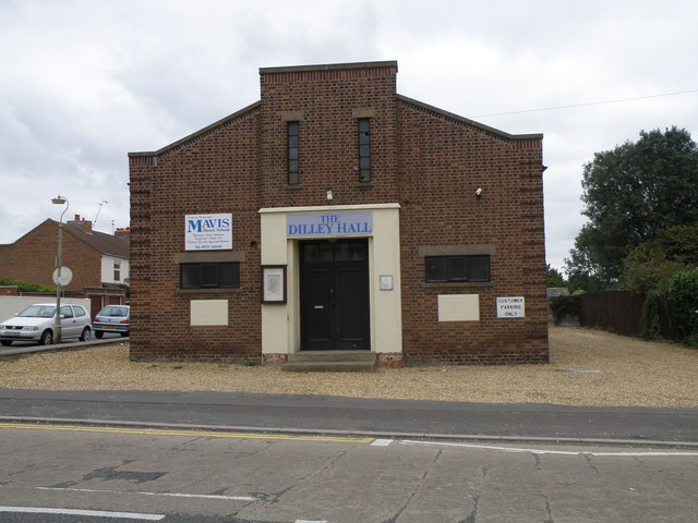 The Dilley Hall in Old Fletton