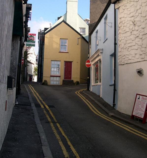 Bridge Street towards Nott Square.