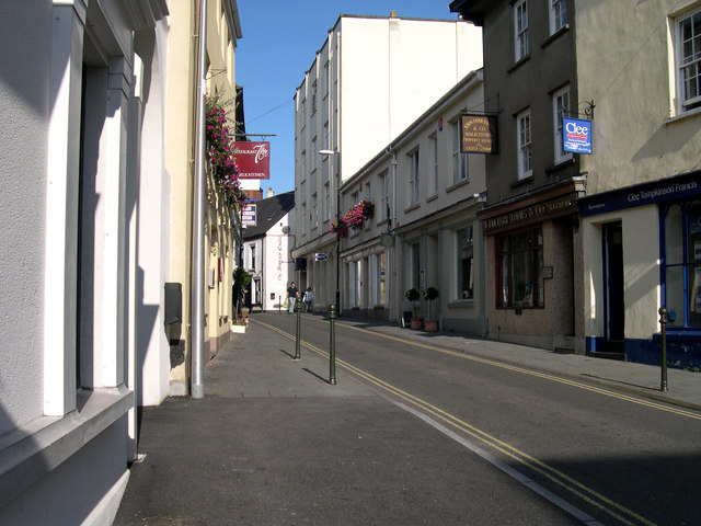 Queen Street Carmarthen