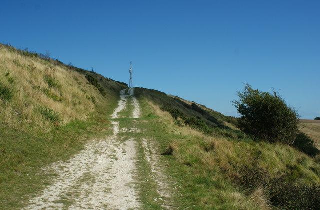 Bridleway on Rollington Hill, Dorset