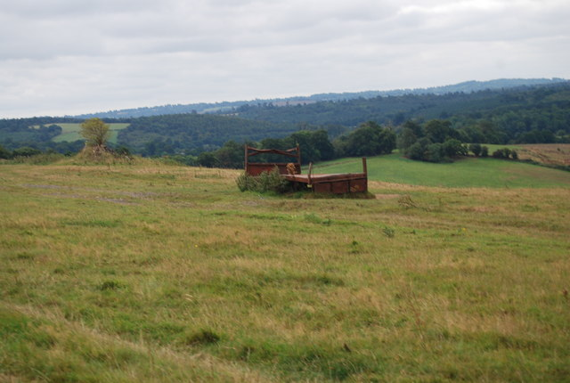 Abandoned Farm Machinery by the Tunbridge Wells Circular Path