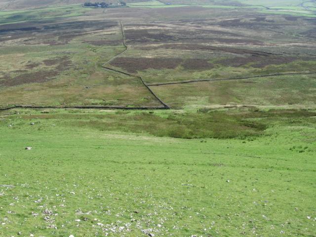 Fawcett Moor from Pen-y-ghent