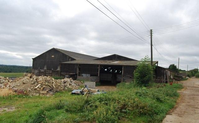 Farm buildings, Little Bayhall Farm