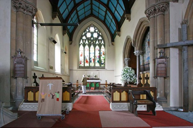 St Mary, Greenhithe, Kent - Chancel