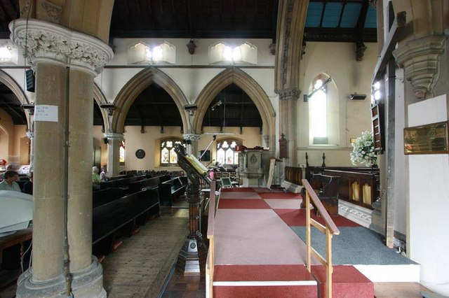 St Mary, Greenhithe, Kent - Interior