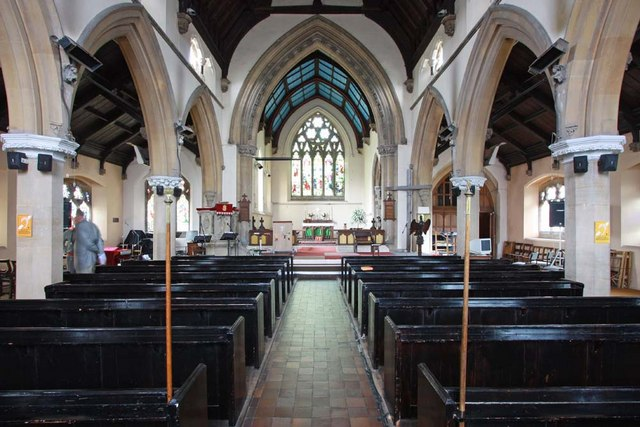 St Mary, Greenhithe, Kent - East end