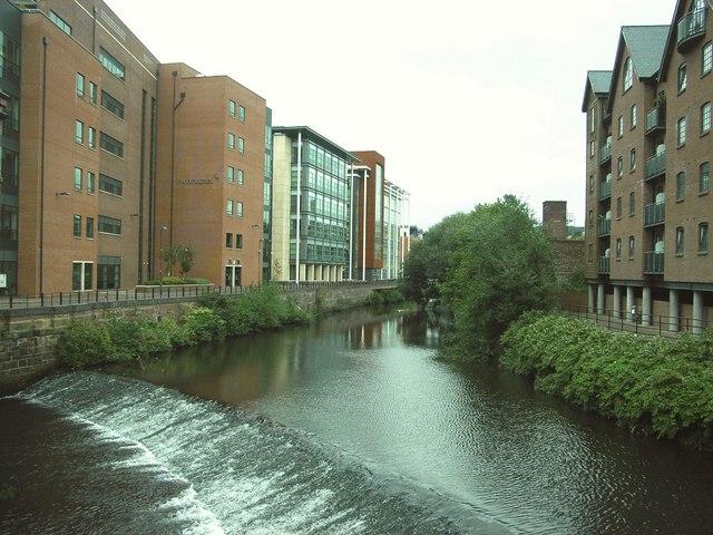 River Don,  Lady's Bridge,  Sheffield