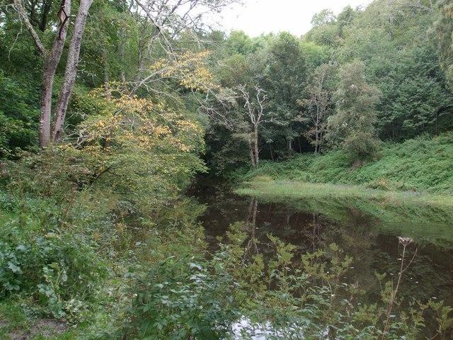Lochan in Fairy Glen