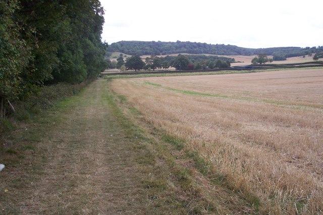Footpath to Godmersham Park