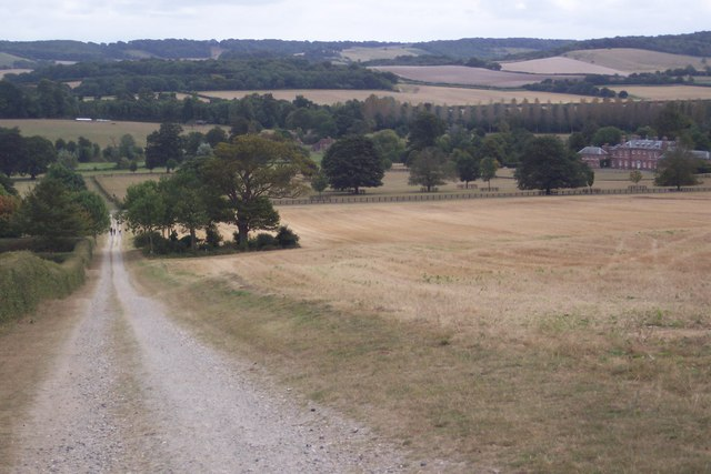 Footpath to Godmersham Park