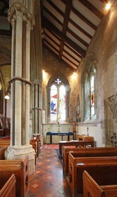 St Mary, Stone, Kent - South aisle