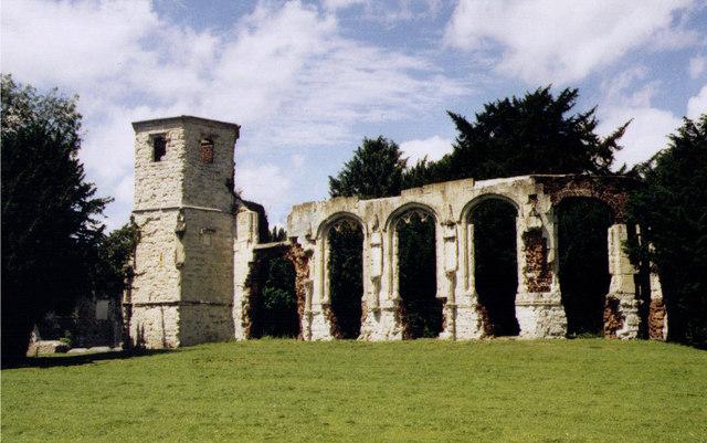 Holy Trinity Chapel ruin, Basingstoke
