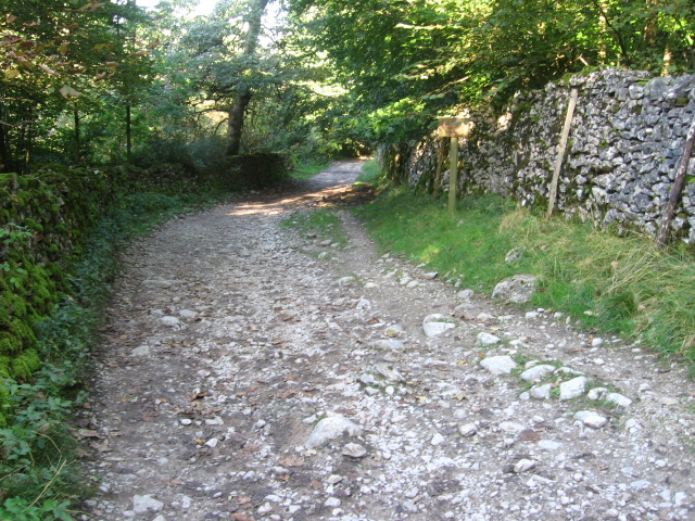 Footpath to Clapham