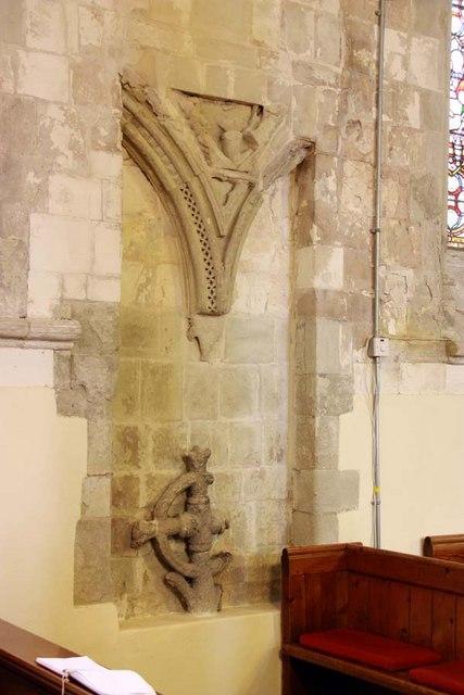 St Mary, Stone, Kent - Stonework