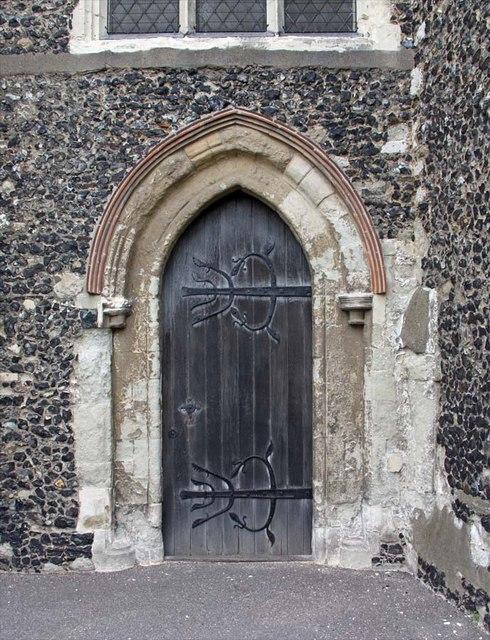 St Mary, Stone, Kent - Doorway