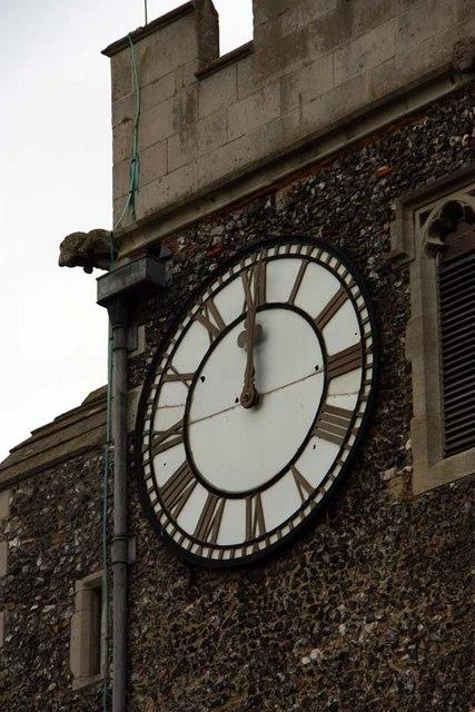 St Mary, Stone, Kent - Clock