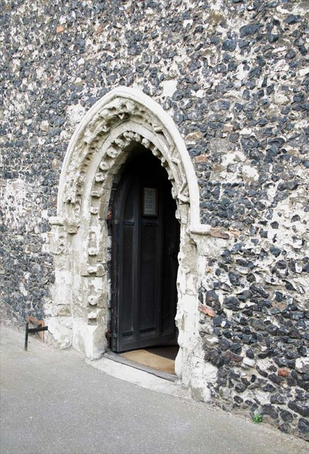 St Mary, Stone, Kent - Doorway