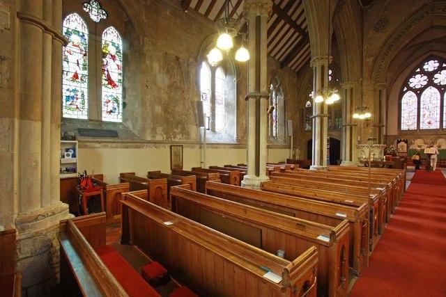 St Mary, Stone, Kent - North arcade