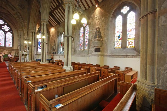 St Mary, Stone, Kent - South arcade