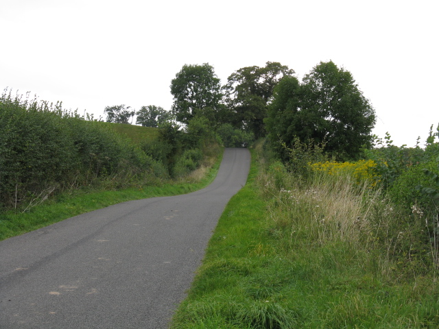Lane To Orleton At Stanford on Teme