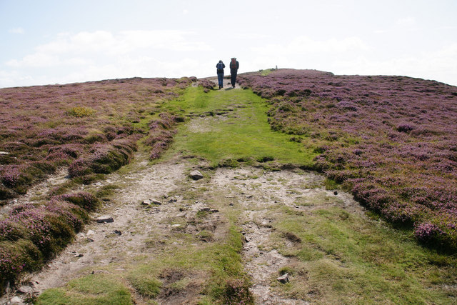 Heading up The Beacon