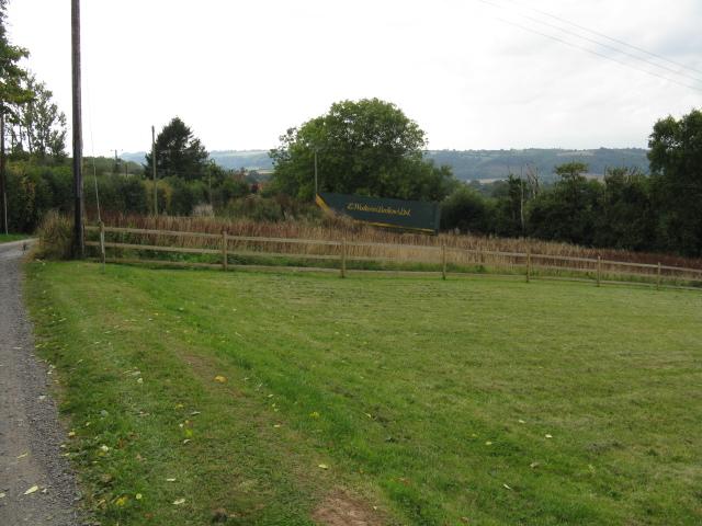 Neatly Mown Lawn Near Elms Green