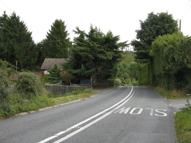 A443 At Elms Green