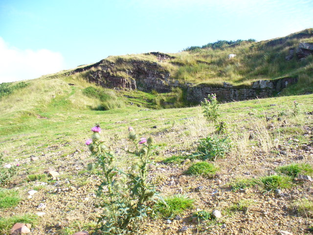 Disused Quarry on Cefn Bryn