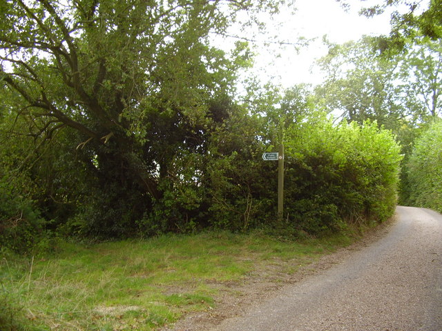 Burscombe lane, foot path