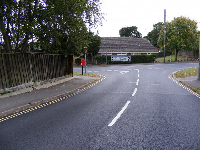 Roman Way & London Road Postbox