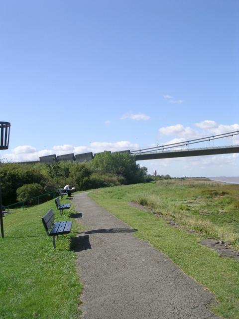 Start of Viking Way - 140 miles from Barton to Oakham