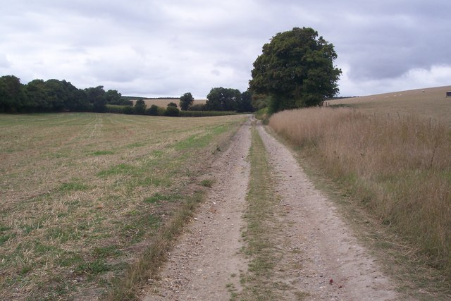 Farm track to Lower Ensden