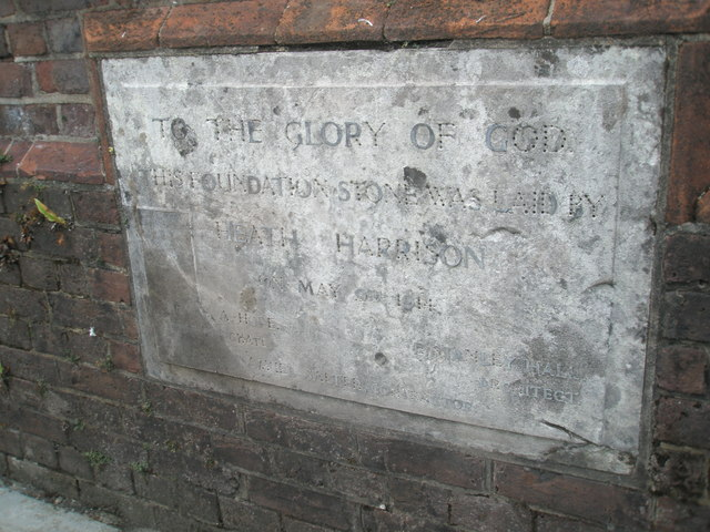 St Cuthbert's foundation stone
