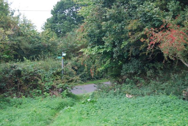 Tunbridge Wells Circular Path - reaching Hawkenbury Rd