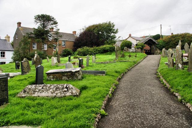 Churchyard, Llangennith